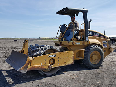 excavating services site prep corpus christi